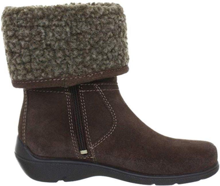 Buty zimowe dziecięce ECCO Nini brązowe76101205192