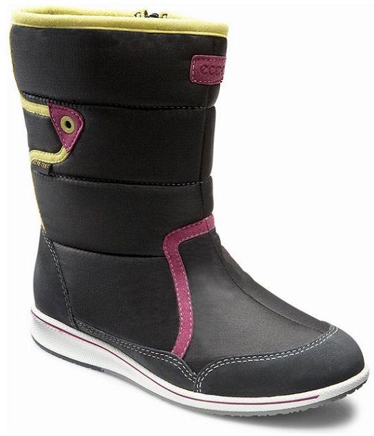Buty zimowe dziecięce ECCO Joga czarne72656251052