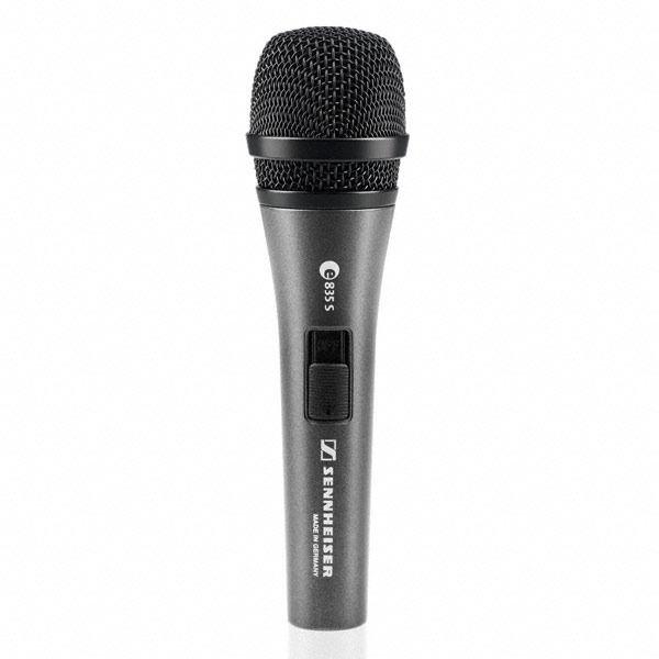 Sennheiser e835S - mikrofon dynamiczny z wyłącznikiem Sennheiser e835S