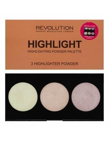 Makeup Revolution paleta rozświetlaczy Highlight