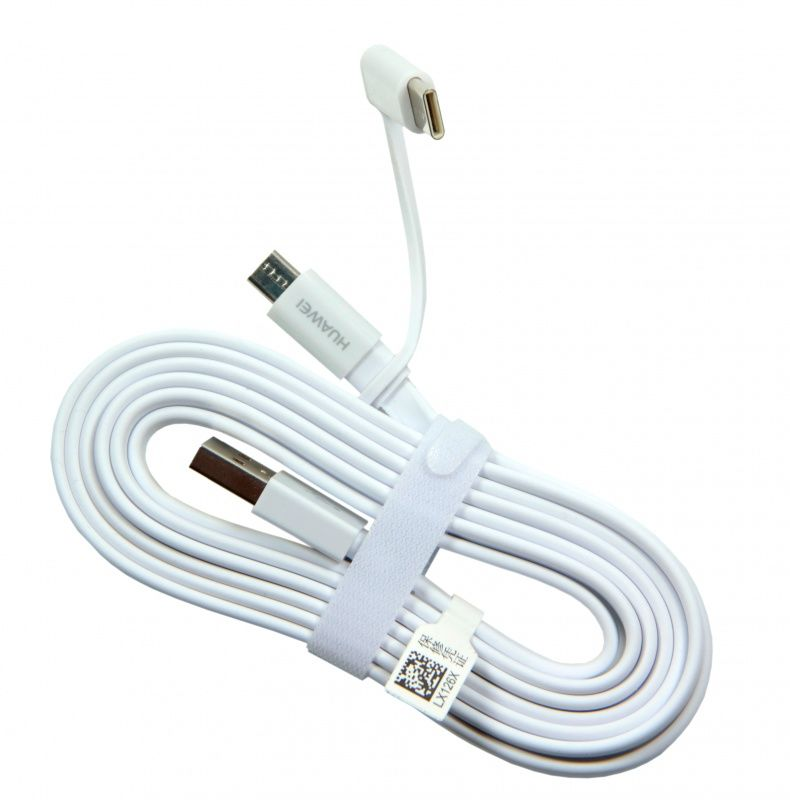 Kabel Huawei AP55S microUSB + USB-C 1,5m