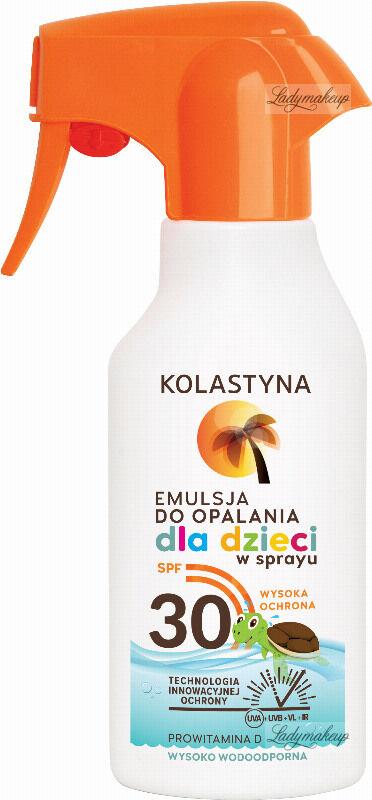 KOLASTYNA - Emulsja do opalania dla dzieci w sprayu - SPF30 - 200 ml