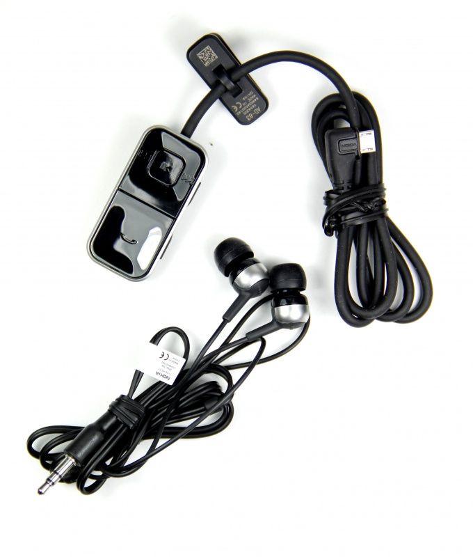 Słuchawki NOKIA HS-83 3.5 mm czarny
