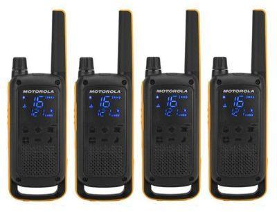 Radiotelefony MOTOROLA Talkabout T82 Extreme Quad Pack>>Teraz w zestawie do 70% TANIEJ. Sprawdź!