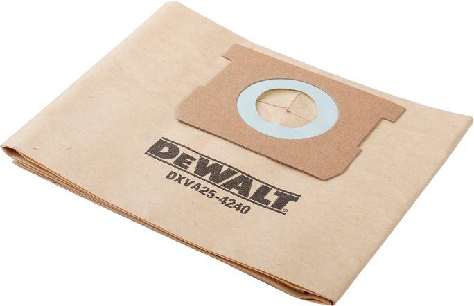 Worki do odkurzacza DeWalt DXV15T - DXVA25-4240 3szt