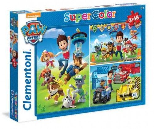 Puzzle 3x48 SuperColor - Psi Patrol
