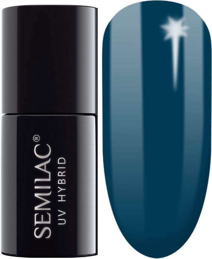 SEMILAC 406 Blue Tea UV LED Lakier Hybrydowy 7ml