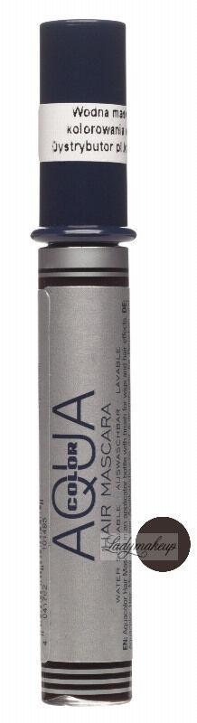 KRYOLAN - AQUA COLOR HAIR MASCARA - Wodna maskara do włosów - ART. 2296 - BLACK BROWN