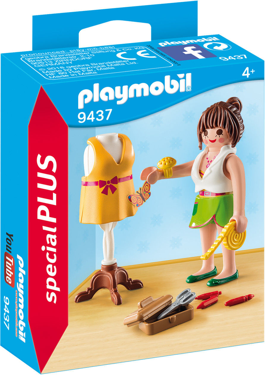 Playmobil - Projektantka mody 9437