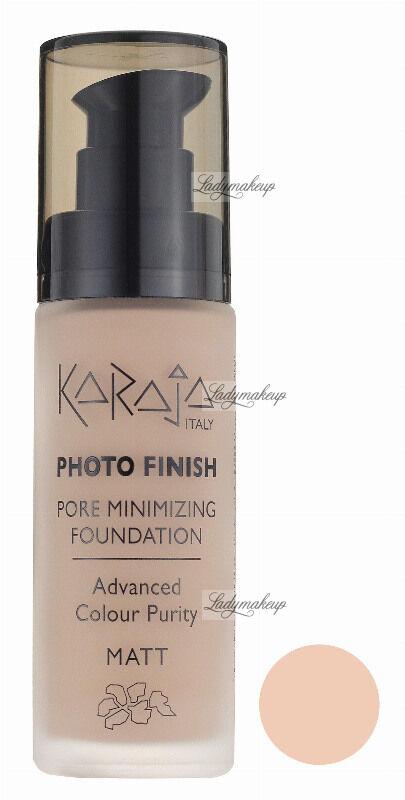 Karaja - PHOTO FINISH - PORE MINIMIZING FOUNDATION - Advanced Colour Purity - Podkład perfekcyjnie matujący - 104