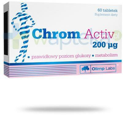 Olimp Chrom Activ 200mcg 60 tabletek