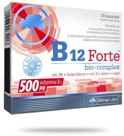 Olimp B12 Forte Bio-complex 30 kapsułek