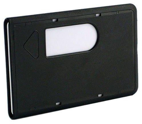 Etui chroniące karty przed zniszczeniem i złamaniem (Czarny) - Czarny