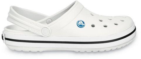 Klapki CROCS Crocband White białe 11016100