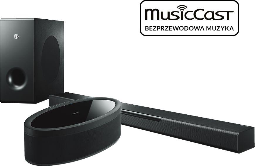 MusicCast BAR 400 (czarny) + MusicCast 50 (czarny)  SALONY FIRMOWE W 12 MIASTACH  25 LAT NA RYNKU  DOSTAWA 0 zł  ODBIÓR OSOBISTY