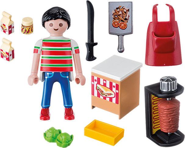 Playmobil - Sprzedawca kebabów 9088