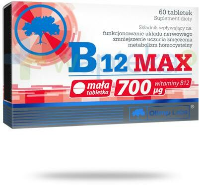 Olimp B12 Max 700 g 60 kapsułek