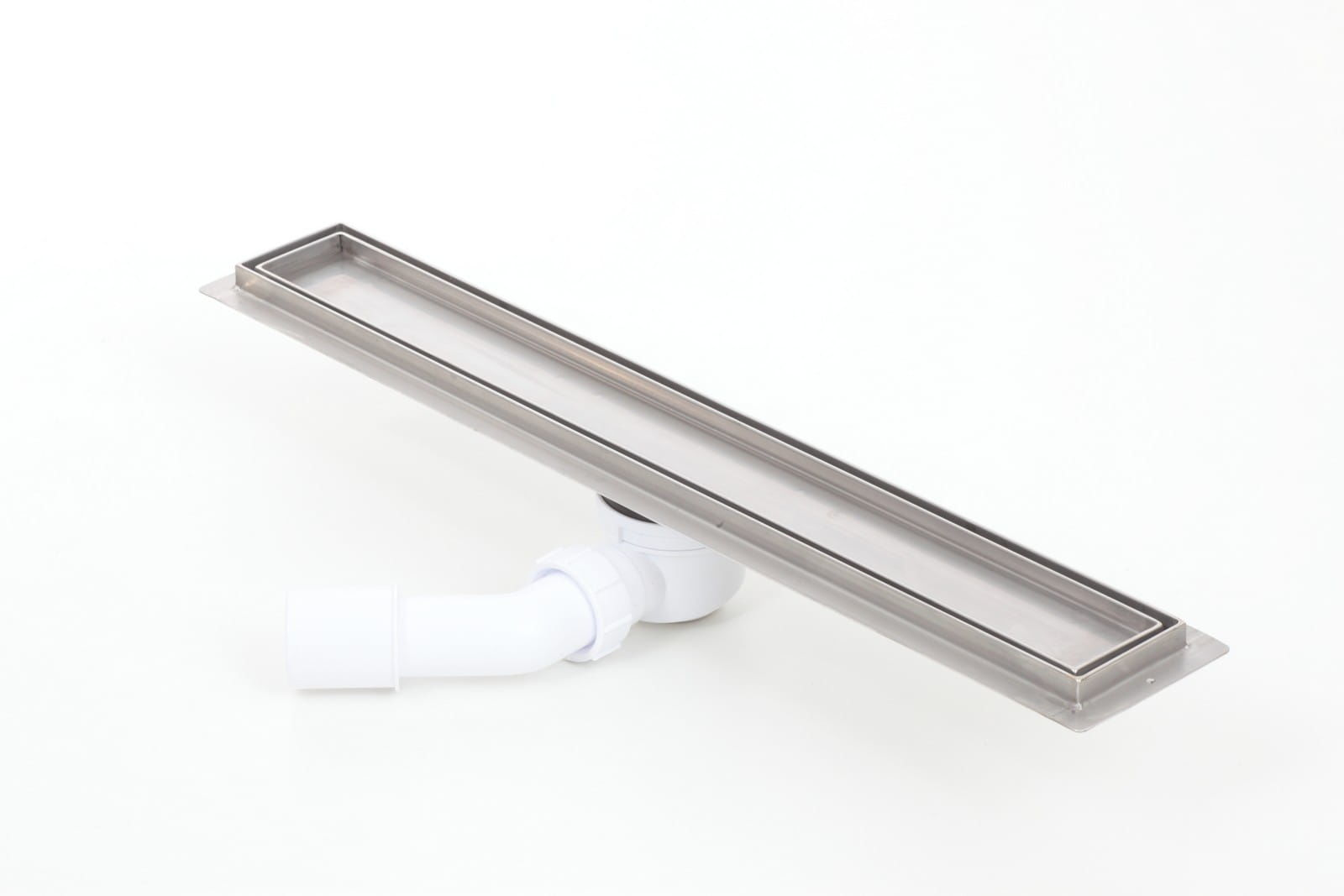 Odpływ liniowy Kesmet Silver Ceramic Tile 600KF_p 60 cm (syfon plastik)