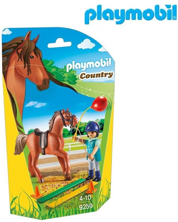 Playmobil - Terapeutka koni 9259