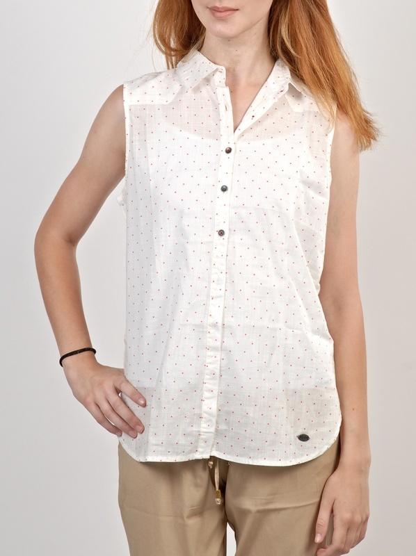Roxy JOEY WBS6 panie krótki rękaw koszula - L