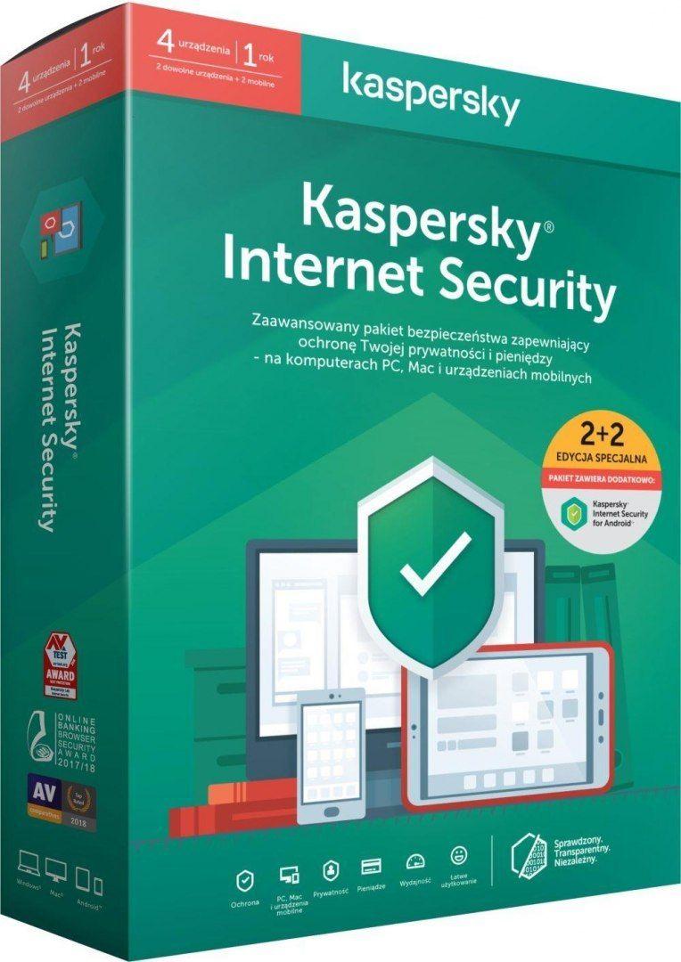 Licencja BOX Kaspersky Internet Security - multi-device 2 stanowiska 1 rok PROMO 2 Android