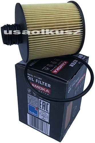 Wkład filtra oleju silnika Fiat 500X 2,0 TD