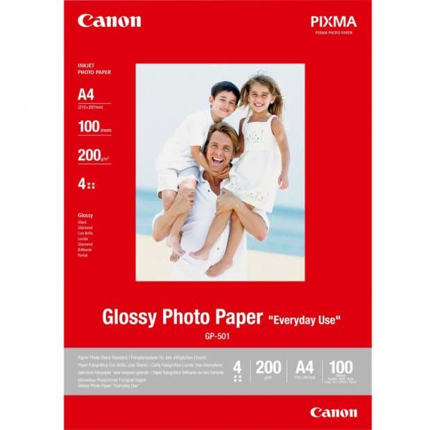 Papier CANON Everyday Use Glossy GP-501 200 g/m2 - A4 / 100 arkuszy (0775B001)