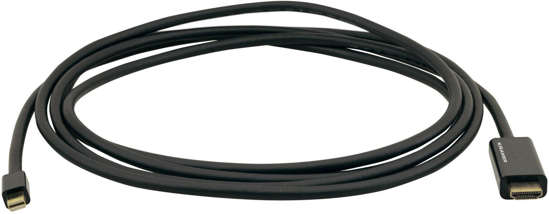 Kramer C-MDP/HM/UHD 4K aktywny adapter Mini-DisplayPort (M) na HDMI (M), 3 m
