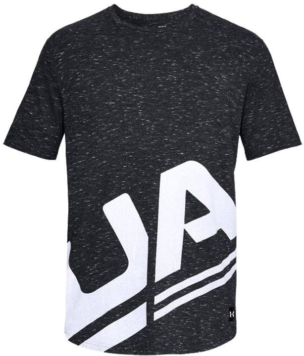 Koszulka termoaktywna Under Armour Sportstyle Branded Black (1318567-001)