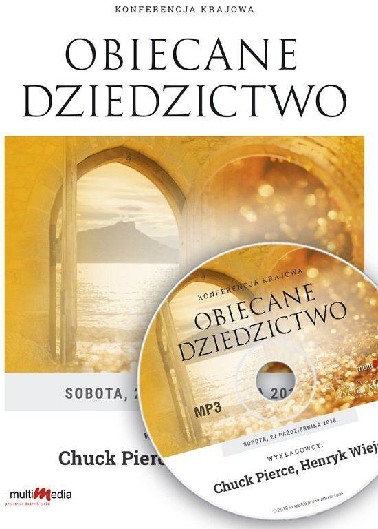 Obiecane dziedzictwo Konferencja - Chuck Pierce, Henryk Wieja - CD/MP3