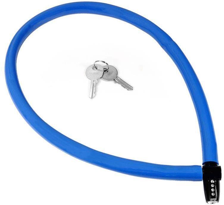 Zapięcie, linka Kryptonite Keeper 665 KC 6mm/65cm niebieski - niebieski