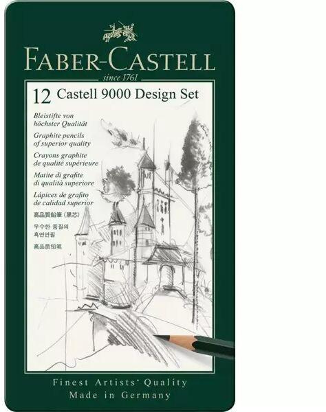 Ołówek Castell 9000 Design 12szt FABER CASTELL - Faber Castell