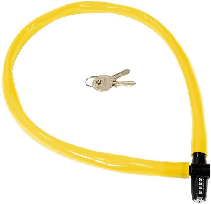 Zapięcie, linka Kryptonite Keeper 665 KC 6mm/65cm żółty - żółty