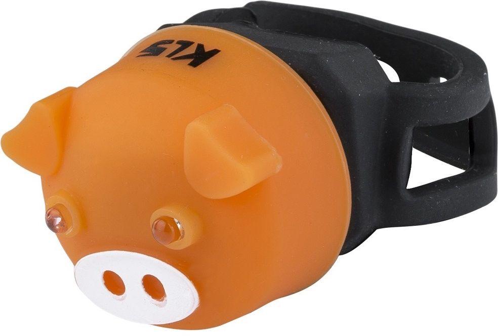 Lampka Kellys Piggy tylna pomarańczowa