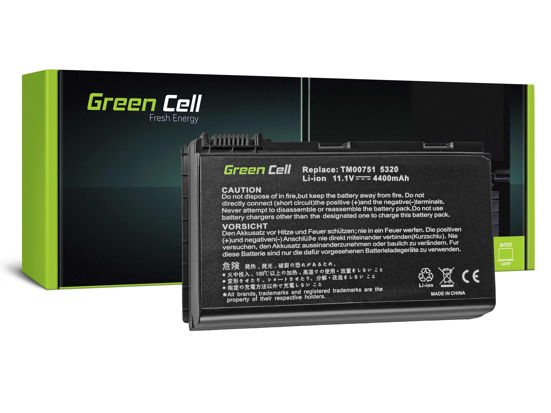 Bateria Green Cell GRAPE32 TM00741 do Acer Extensa 5000 5220 5610 5620 TravelMate 5220 5520 5720 7520 7720