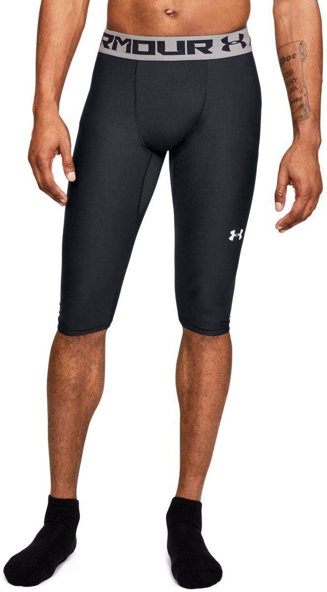Under Armour Szorty Kompresyjne Baseline Knee Tight Black