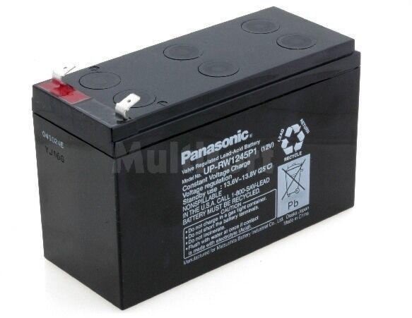 Akumulator kwasowo-ołowiowy PANASONIC 12V 45W żywotność 6-9 lat