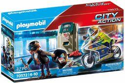 PLAYMOBIL City Action 70572 Policyjny motor: Pościg za przestępcą, od 4 lat