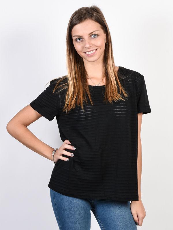 Roxy EARLYBIRD GANG ANTHRACITE t-shirt damski - S