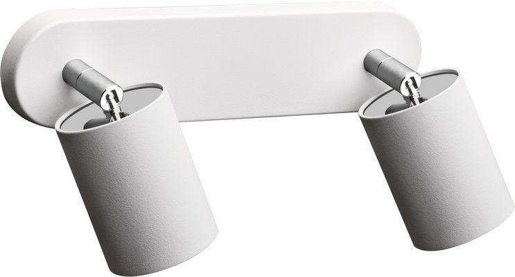 Plafon Eye Spot 6015 Nowodvorski Lighting uniwersalna podwójna oprawa w kolorze białym