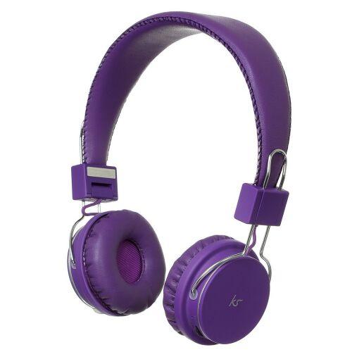 Słuchawki nagłowne Manhattan bluetooth - fioletowe