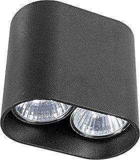 Oprawa natynkowa Pag 9386 Nowodvorski Lighting nowoczesna czarna lampa sufitowa