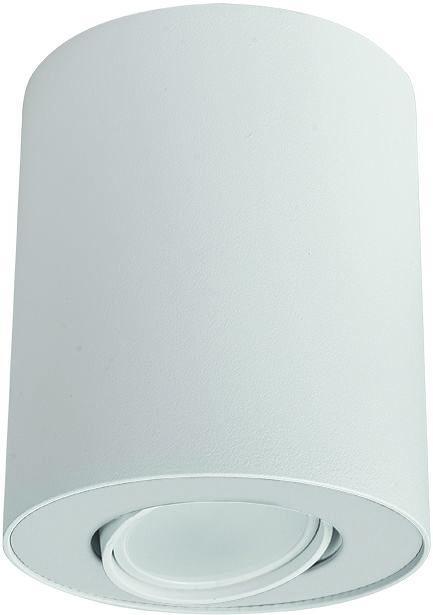 Plafon Set 8895 Nowodvorski Lighting biała oprawa w kształcie tuby