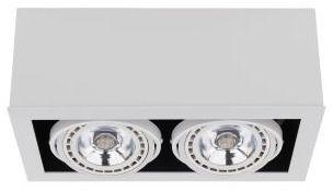 Oprawa natynkowa Box ES111 9472 Nowodvorski Lighting podwójna oprawa w kolorze białym