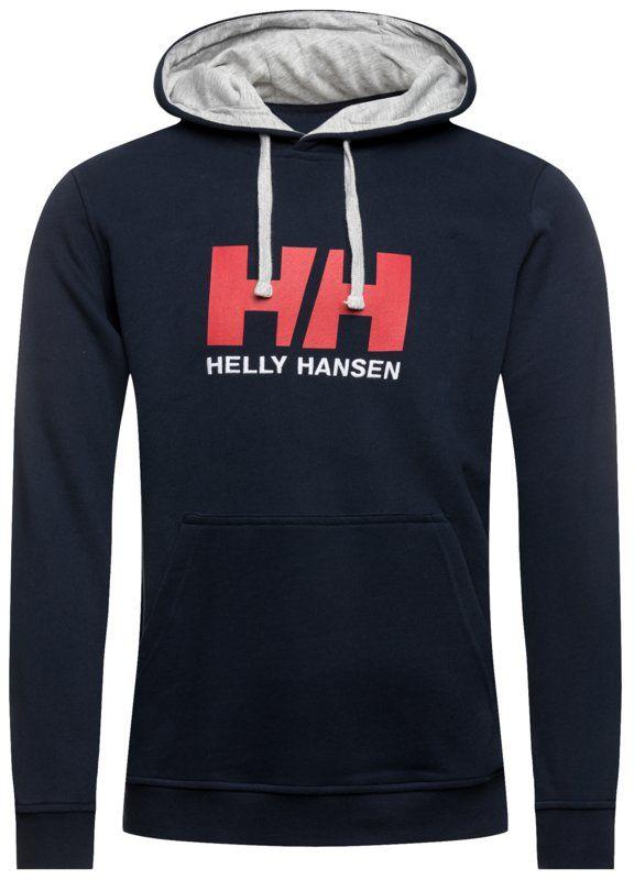 Helly Hansen Bluza Hh Logo 33977 Granatowy Regular Fit