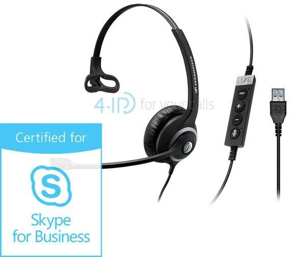 Sennheiser SC 230 USB MS II słuchawka z mikrofonem do PC (złącze USB-A)