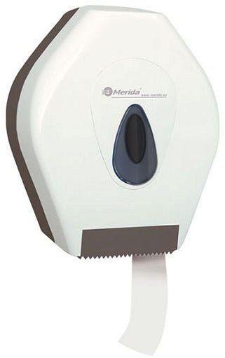 Pojemnik na papier toaletowy Merida Top Mini, tył szary, okienko szare