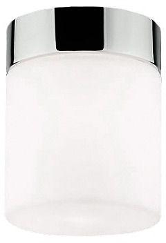 Plafon łazienkowy Cayo 9505 Nowodvorski Lighting chromowana oprawa w kształcie tuby