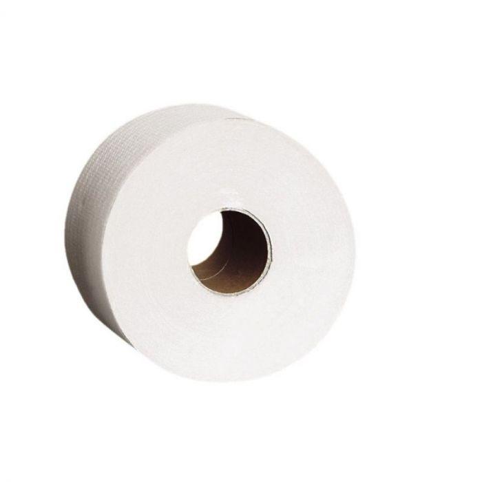 Papier toaletowy Merida Top, biały, średnica 23 cm, długość 245 m, dwuwarstwowy, zgrzewka 6 szt.