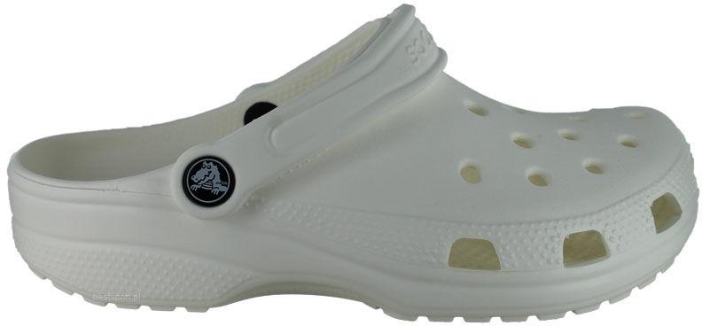 Klapki Crocs Classic białe10001100